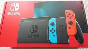 新品未開封 Nintendo Switch 本体 ネオンブルー・ネオンレッド バッテリー持続時間が長くなった新型 HAD-S-KABAA