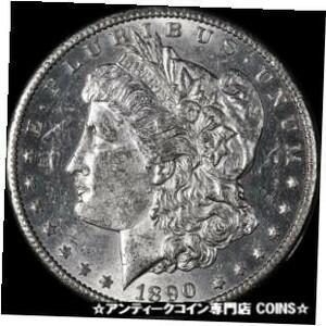 金貨 銀貨 シルバー アンティークコイン 1890-CC Morgan Silver Dollar Nice BU #9477