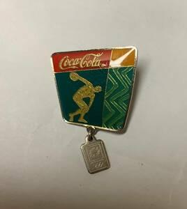 【オリンピックピンバッジ】 コカコーラ 2004アテネ五輪 ピンバッジ⑭