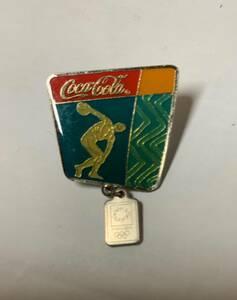 【オリンピックピンバッジ】コカコーラ 2004アテネ五輪 ピンバッジ