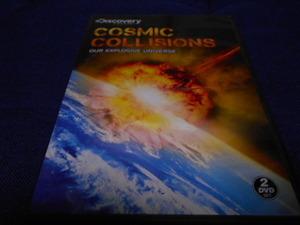 【DVD】ディスカバリーチャンネル COSMIC COLLISIONS 2枚組 海外輸入版