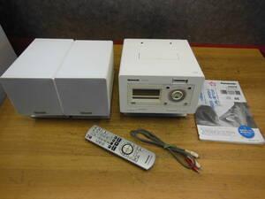 【ジャンク】 Panasonic パナソニック SDステレオシステム ミニコンポ SA-NS550SD リモコン付き