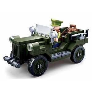 【新品】ドイツ軍ジープ 第二次世界大戦 ノルマンディー上陸作戦 レゴ互換品レゴ ミニフィグ LEGO レゴ