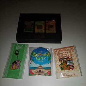 ディズニーランド 非売品 年間パスポート ディズニー ピンバッジ ドナルド ミニー  シェリーメイ ミラコスタ アンバサダーホテル