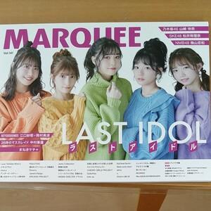 アイドル特集の雑誌です。