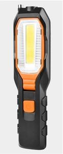 LED ワークライト オレンジ色  防災 キャンプ アウトドア フック マグネット 四つ点灯モード  角度調節.