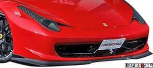【M's】Ferrari 458イタリア (2009y-2015y) LEAP DESIGN フロントスポイラー // カーボン CARBON リープデザイン エアロパーツ カスタム