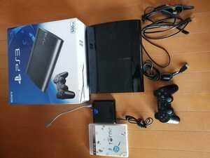 程度良好 ワンオーナー PS3 PlayStation3 本体 CECH-4300c コントローラー 接続ケーブル 500GB 動作確認済