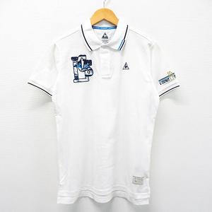 Lecoq golf ルコックゴルフ QGMLJA02 半袖ポロシャツ ホワイト系 M [240001534074] ゴルフウェア メンズ