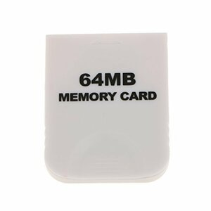 【送料無料】任天堂 Nintendo Wii GCゲームキューブ対応 大容量64MB メモリーカード 互換品