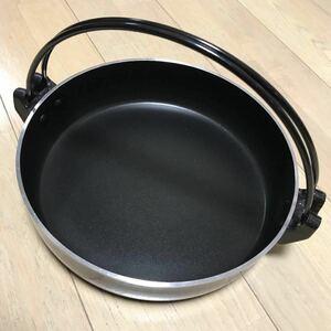 すき焼き鍋 アウトドア キャンプ 吊り鍋 フッ素加工
