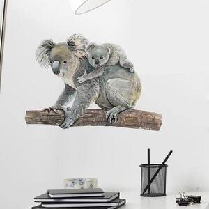 (NO.165)DIY剥がせる壁飾りウォールステッカー綺麗な仕上がり コアラ