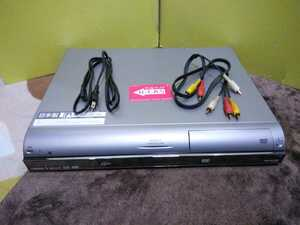 日本製 07年製 シャープ AQUOS HDD DVDレコーダー DV-AC52 B-CASカード付き 再生のみの動作確認済み 中古品 現状渡し【リモコン欠品】