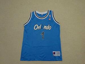 Champion チャンピオン製 NBA Orlando Magic オーランド・マジック HAROAWAY #1★ユニフォーム キッズサイズ L(14-16) バスケット