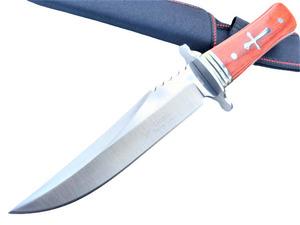 アウトドア コロンビアナイフ A035 サバイバルナイフ 釣り 登山 シースナイフ
