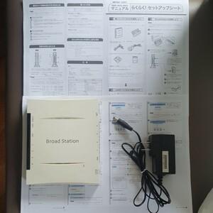 バッファロー ブロードステーション bbr-4mg v2 ブロードバンドルーター BUFFALO