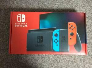 新品未開封品 Nintendo Switch 本体 (ニンテンドースイッチ) Joy-Con(L) ネオンブルー/(R) ネオンレッド