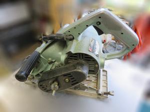 【HITACHI】日立 ブレーキ付胴縁カッタ 多分GB-45 46mm 傷/汚れあり 通電動作OK 中古