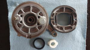 スズキ純正CA41Aレッツ4 ドラムブレーキ CA45A パレット Let's4 分解清掃済み 破損なし 固着なし 実動 アドレスv50