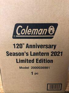 Coleman シーズンランタン2021  コールマン シーズンズランタン Coleman