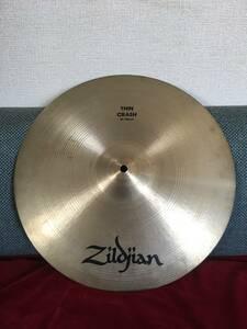 【1980年~1993年製】A Zildjian Thin Crash 16インチ 900g ジルジャン