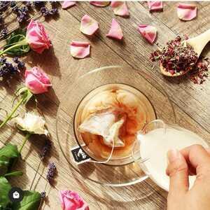 送料無料 リラックスローズ ノンカフェイン ローズやラベンダー等の高貴な風味 飲むリラックスアロマ 手軽に飲めるティーバッグタイプ