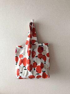 *handmade トートバッグ :: りんご