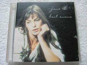 国内盤 全21曲収録ベスト盤 / Jane Birkin / Best Encore / プロデューサー、フィリップ・ルリショムの選曲による楽曲を収録 シャンソン