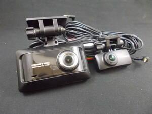 【中古品】コムテック 前後録画 ドライブレコーダー ZDR026 WQHD 370万画素 STRAVIS搭載 高性能 ドラレコ 後方 カメラ COMTEC