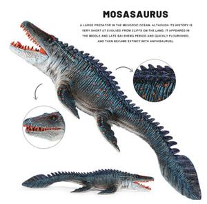 S-142 モササウルス 34cm ジュラシック 恐竜 おもちゃ mosasaur プラスチック インテリア