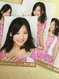 AKB48 Theater 2010. November チームA 仲川 遥香 初期写真 他にも出品中 説明文必読