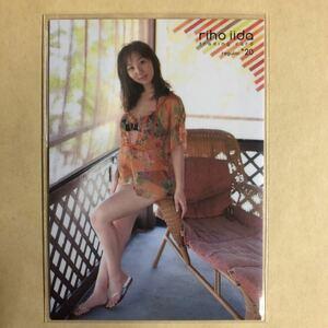 飯田里穂 2010 トレカ アイドル タレント 声優 カード 水着 ビキニ RG20
