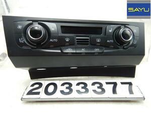 アウディ A4 2.0T クアトロ 8KCDNF エアコンパネル/スイッチ 8T2820043AG A2C53345979 continental 送料無料!