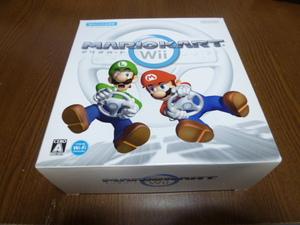 A9【即日配送 送料無料 動作確認済】Wii マリオカート ソフト ハンドル 同梱 セット