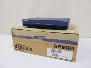 ねC1538 YAMAHA ヤマハ イーサアクセスVPNルーター RTX1000 2003 中古 箱付