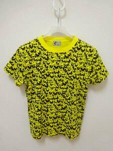 BEAMS BOY x Disney ミッキー 半袖Tシャツ 黄色 黒 ビームスボーイ ディズニー