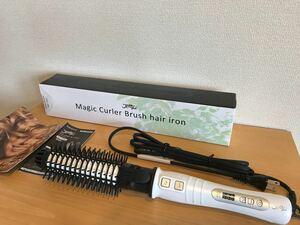 ジェティー マジックカーラーブラシ ヘアアイロン SCJ-MCB01 新品 保証書付き