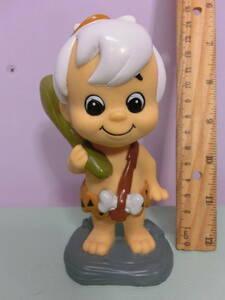 原始家族 フリントストーン バンバン ソフビ フィギュア人形 置物 The Flintstones Vintage Figure Doll Bamm-Bamm ハンナ・バーベラ