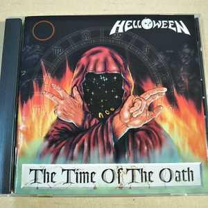 中古CD HELLOWEEN / ハロウィン『The Time Of The Oath』国内盤/帯無し VICP-5682【1202】