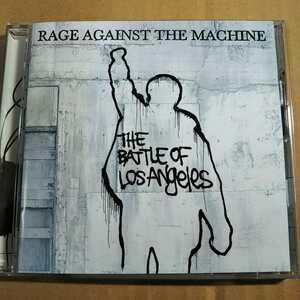 中古CD RAGE AGAINST THE MACHINE / レイジ・アゲインスト・ザ・マシーン『THE BATTLE OF LOS ANGELES』国内盤/帯無し SRCS-8811【1244】