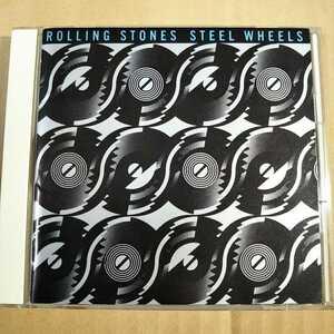 中古CD ROLLING STONES / ローリング・ストーンズ『STEEL WHEELS』国内盤/帯無し 25DP-5566【1254】