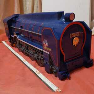 機関車 SLステーション プラレール トミー TOMY 2001年 42cm 中古品 ジャンク品 佐川140発送