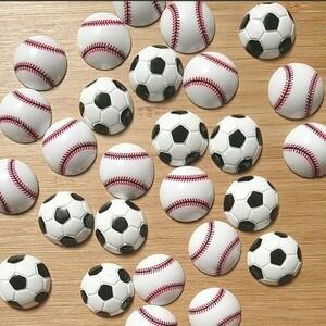 デコパーツ52B  ボール 10個 サッカー 野球