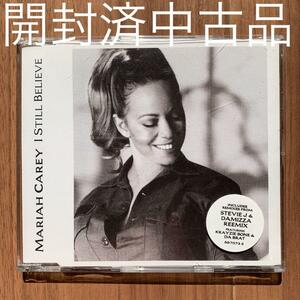 Mariah Carey マライア・キャリー I still believe EU盤シングル 開封済中古品