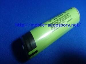 18650型 リチウム充電池 1本 松下 Panasonic NCR18650B 3400mAh(保護回路あり).