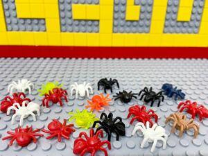 ☆クモ☆ レゴ 動物ミニフィグ 大量20体 蜘蛛 スパイダー 虫 ( LEGO 人形