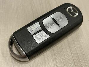 マツダ 純正 スマートキー 4ボタン 007YUUL0310 アドバンスト 両側電動スライドドア プレマシー CWEFW ビアンテ CCEFWラフェスタ キーレス