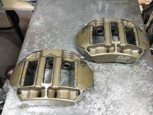 AP made 6 Pod mo knob lock racing caliper used