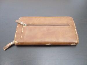 MADE IN CHINA メーカー不明 長財布 中古 定形外350円~ ゆうパック60サイズ 1円スタート