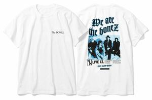 The BONEZ ツアーTシャツ 白 M ザボーンズ